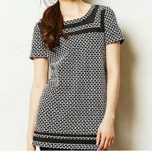 Anthropologie Tunic Dress   Postmark Geometric